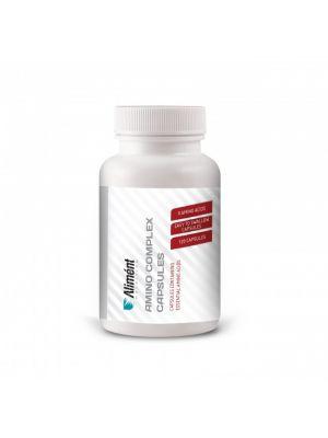 Amino Complex | 120 Amino Acid Capsules | BCAA's